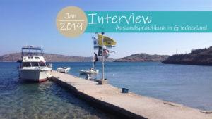 Auslandspraktikum in Griechenland