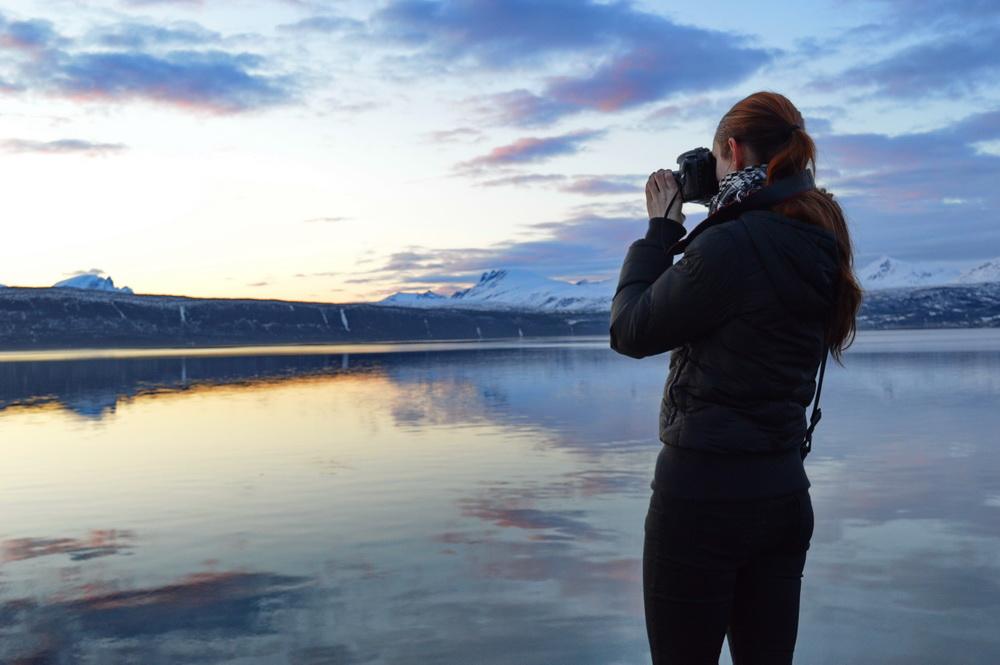 Fotografin in Skandinavien