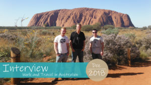 Work and Travel in Australien