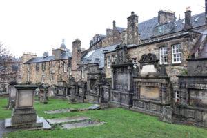 Auf dem Greyfriar Friedhof