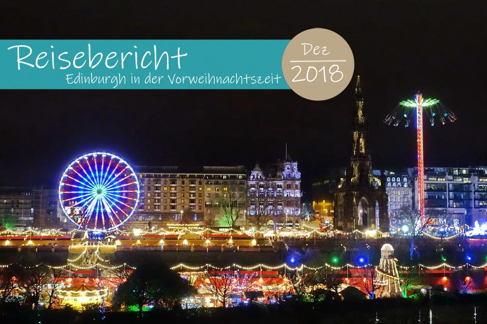 Edinburgh in der Vorweihnachtszeit
