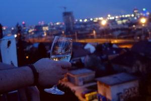 Hotel Galeria: Der Blick vom Balkon