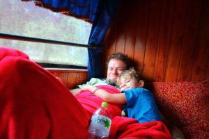 mit dem Nachtbus nach Laos