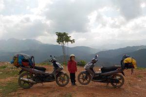 Mit den Bikes unterwegs