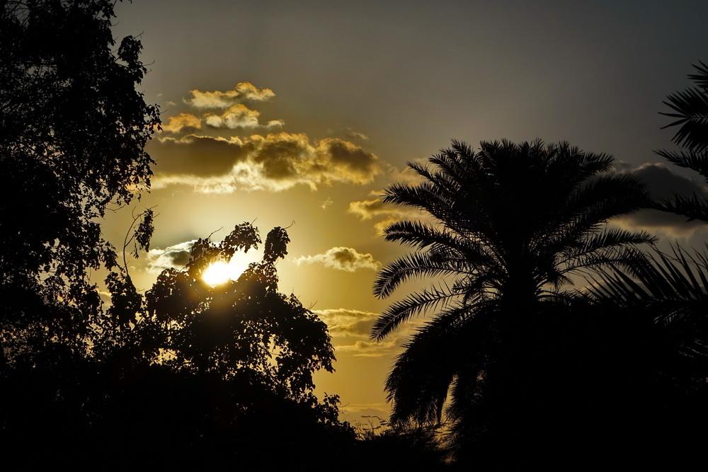 Sonnenuntergang in Dubai.