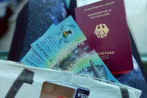 Bezahlen und Einreise in Australien
