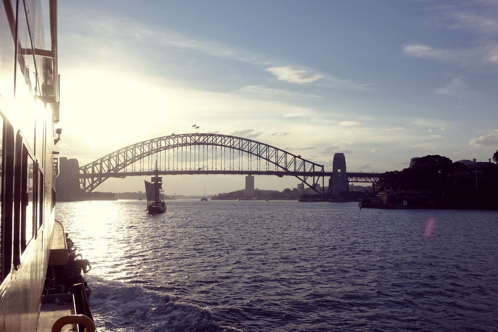Bootstour in Sydney