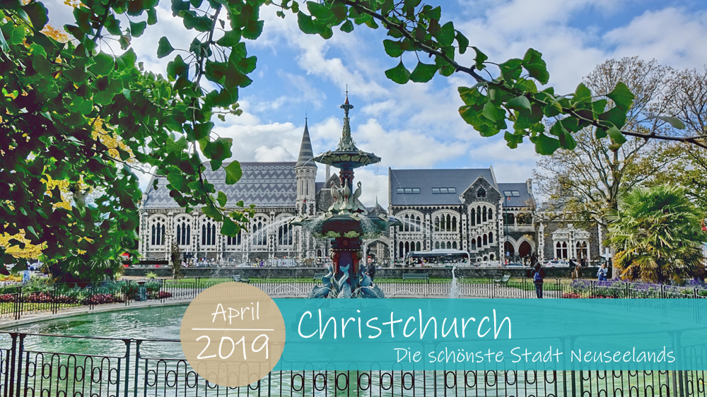 Was habt ihr nur alle gegen Christchurch