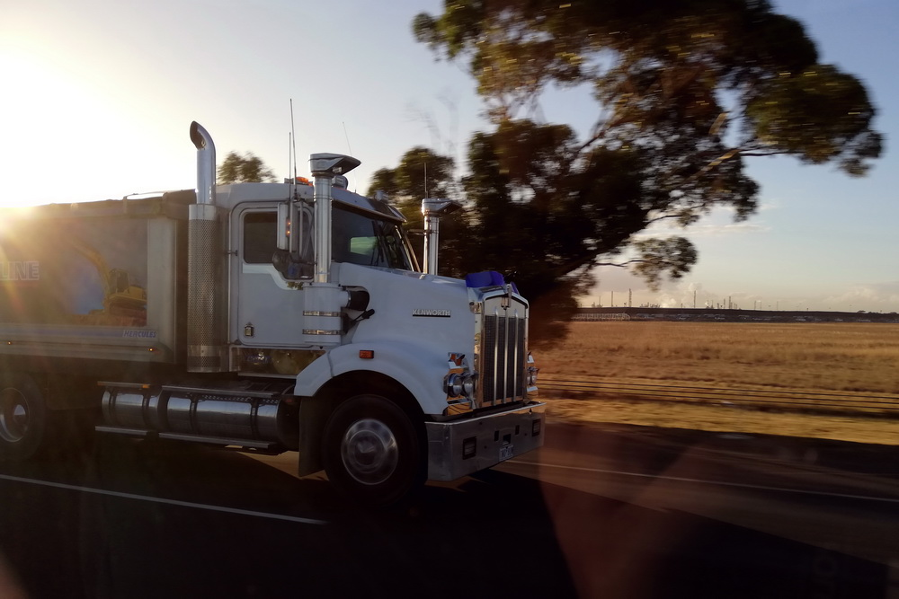 Trucks in Australien
