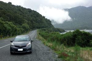Platz für Hitchhiker in Neuseeland