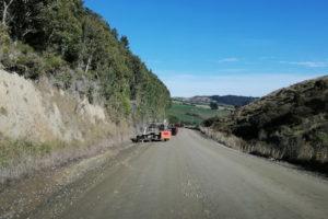 Schotterpisten in Neuseeland