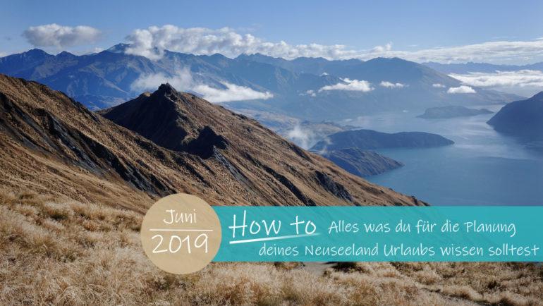 Neuseeland Urlaub planen