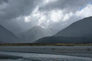 schnell wechselndes Wetter Neuseeland