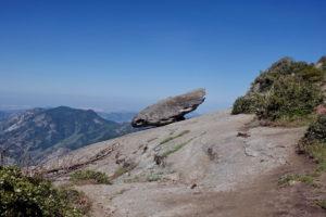 Hanging Rock Sequoia Nationalpark Amerika