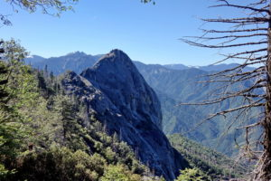 Moro Rock Sequoia Nationalpark Amerika