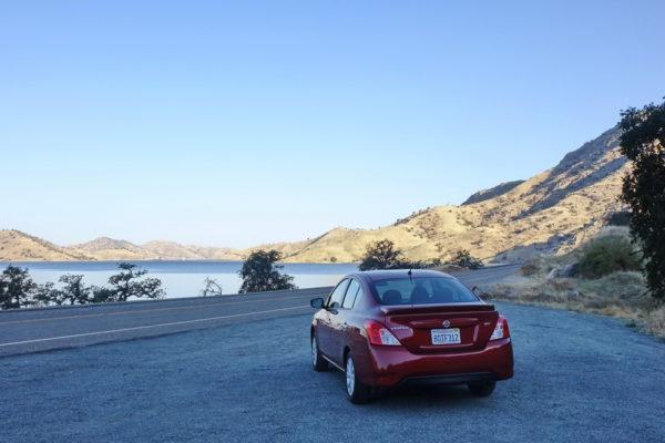 Anfahrt mit dem Auto zum Nationalpark