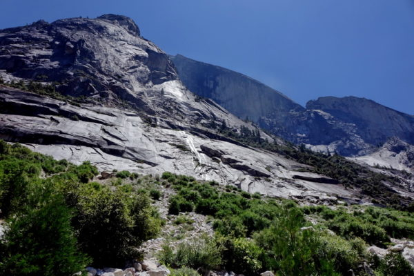 Half Dome im Yosemite Nationalpark vom Tenaya Canyon