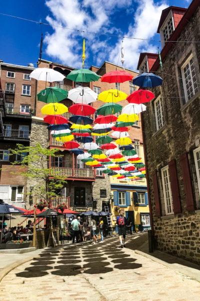 Altstadt in Quebec