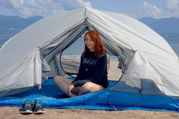 Auf Weltreise mit Zelt unterwegs